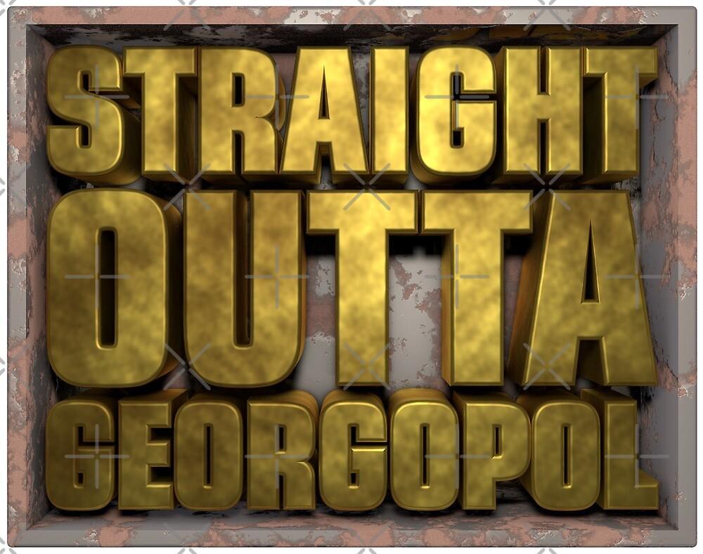 PUBG Player unknowns Battlegrounds straight outta georgopol by Delpieroo