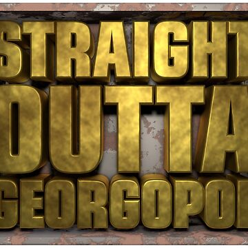 PUBG Player unknowns Battlegrounds straight outta georgopol by Delpieroo