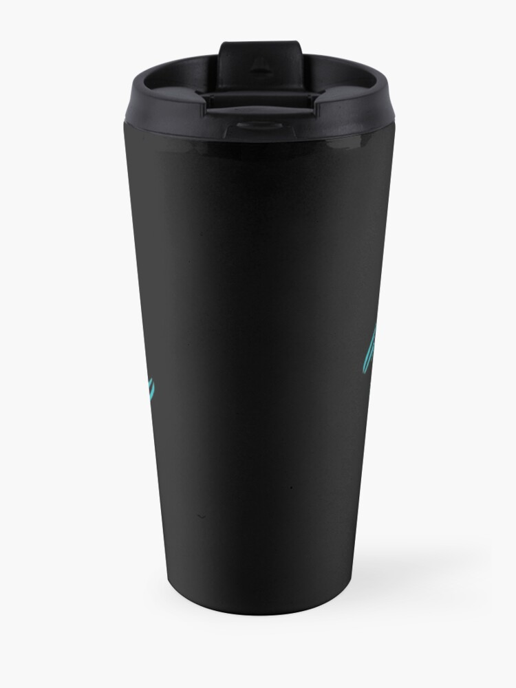Alternate view of Dolphins logo design  Travel Mug
