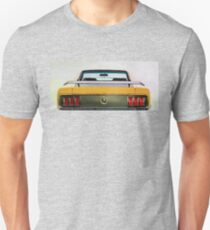 Vintage Ford Mustang in watercolor T-Shirt