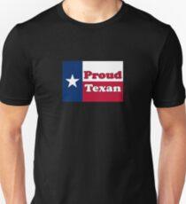 Proud Texan American Flag T-Shirt