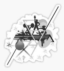 Sport Crossfit Fitness Gym Sticker
