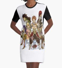 Fairy tail Graphic T-Shirt Dress