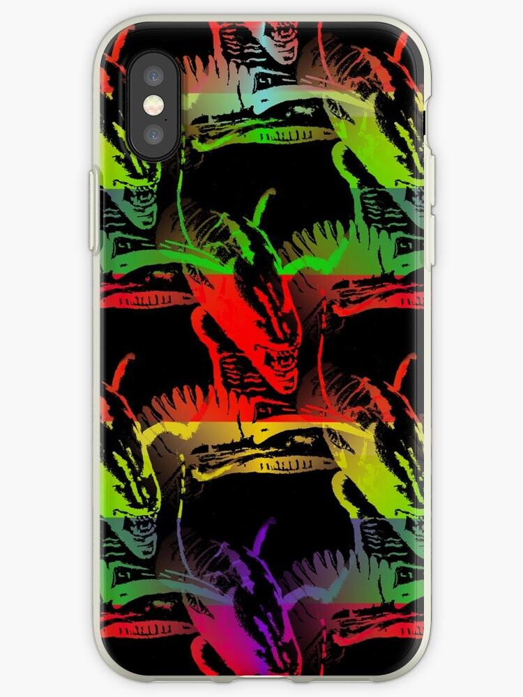 Rainbow Alien by CarolineArts