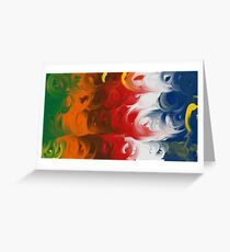 The Storm Inside Greeting Card