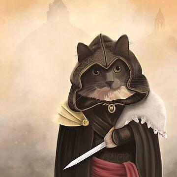 Assassin cat by spectralstories