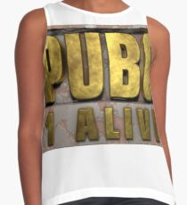 PUBG Playerunknowns Battlegrounds 1 alive Contrast Tank