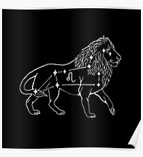 The Leo Constellation Poster