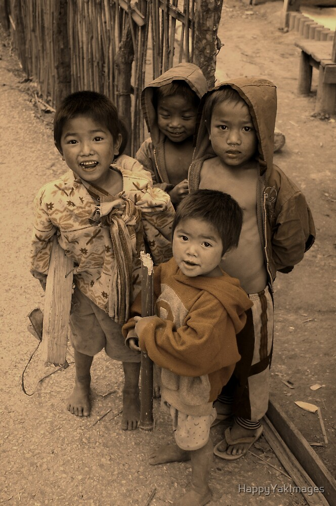 Street Kids by HappyYakImages