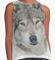 Timber Wolf Contrast Tank