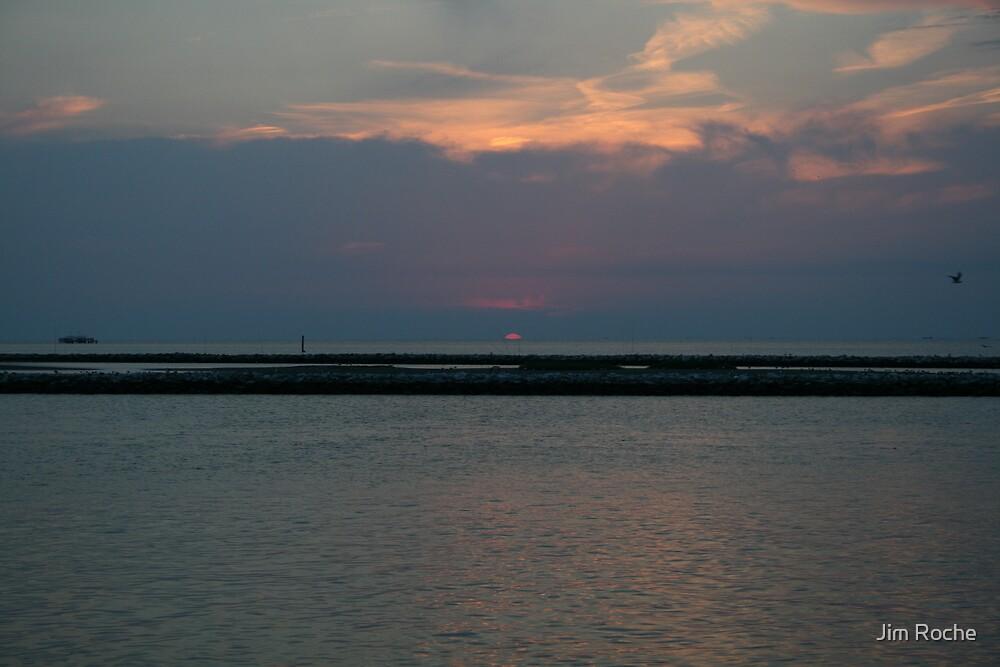 Louisiana Sunset by Jim Roche