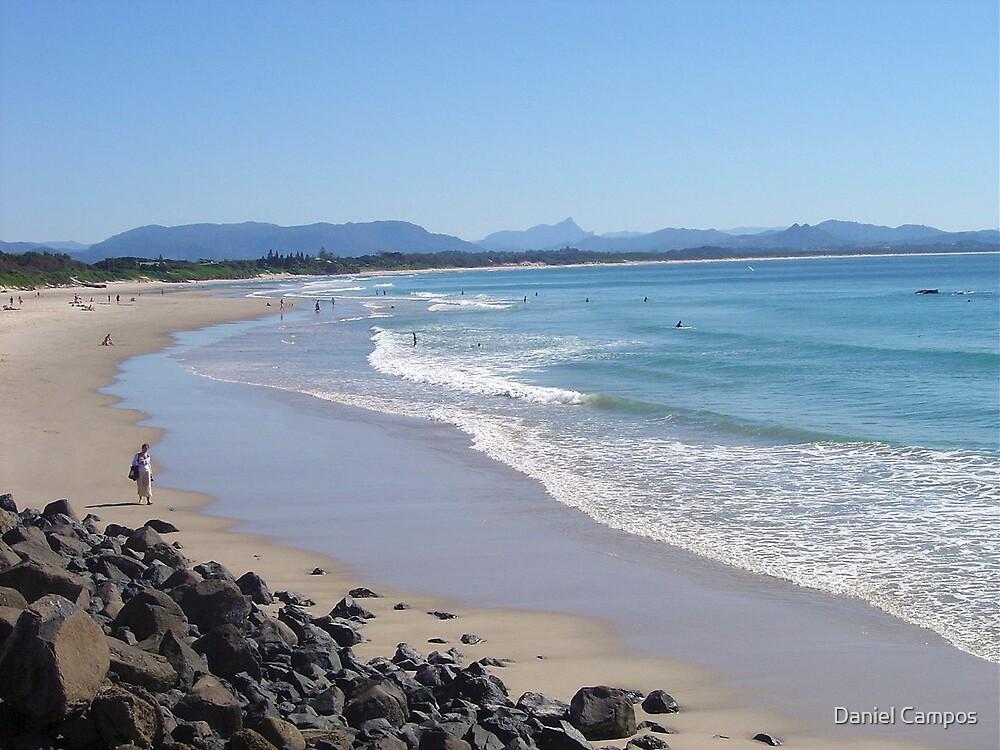 Byron Bay beach overlooking Brunswick Heads by Daniel Campos