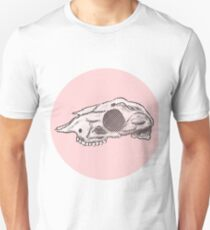 Half Tone Skull Face Dolly T-Shirt