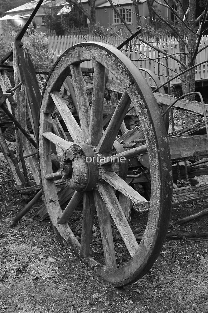 Old Wheel by orianne