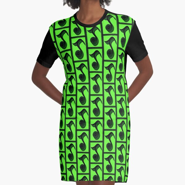 The Alphabet  The letter J Graphic T-Shirt Dress