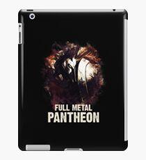 League of Legends FULL METAL PANTHEON iPad Case/Skin