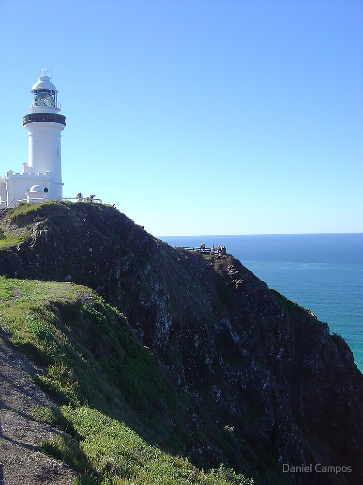 Lighthouse from Cape Byron by Daniel Campos