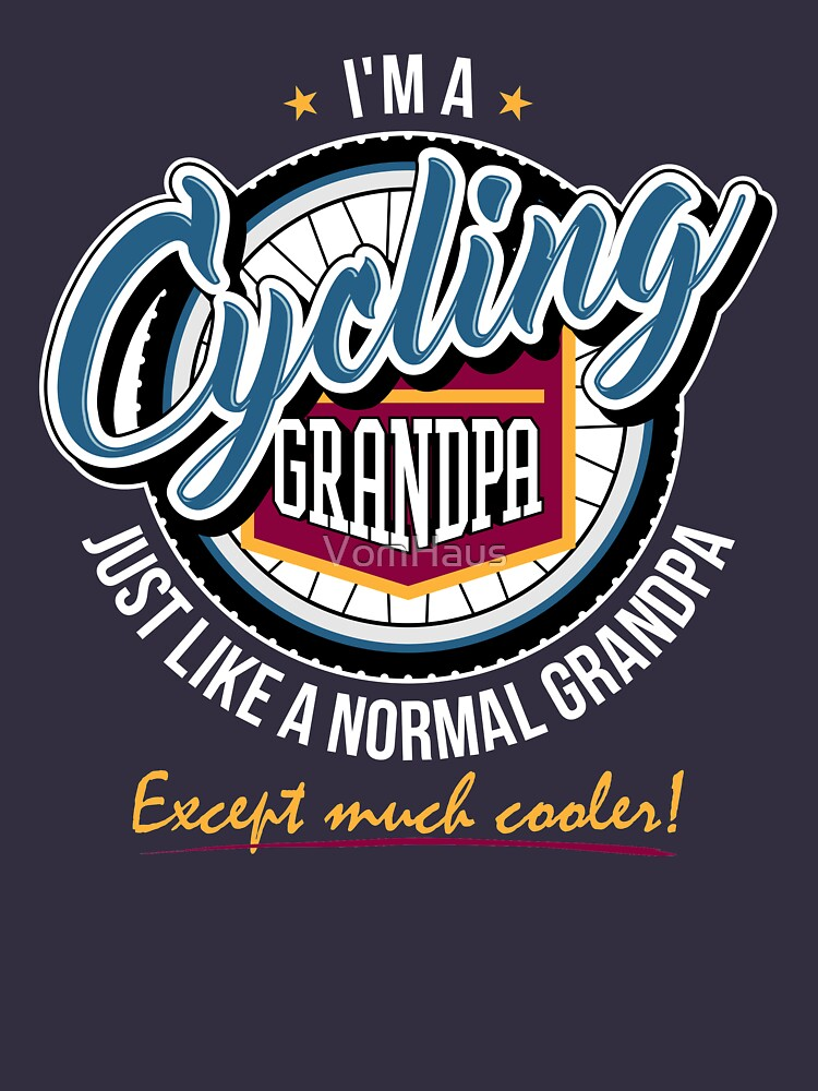 Cycling Grandpa by VomHaus
