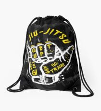 Jiu-jitsu. Go train! 2 Drawstring Bag