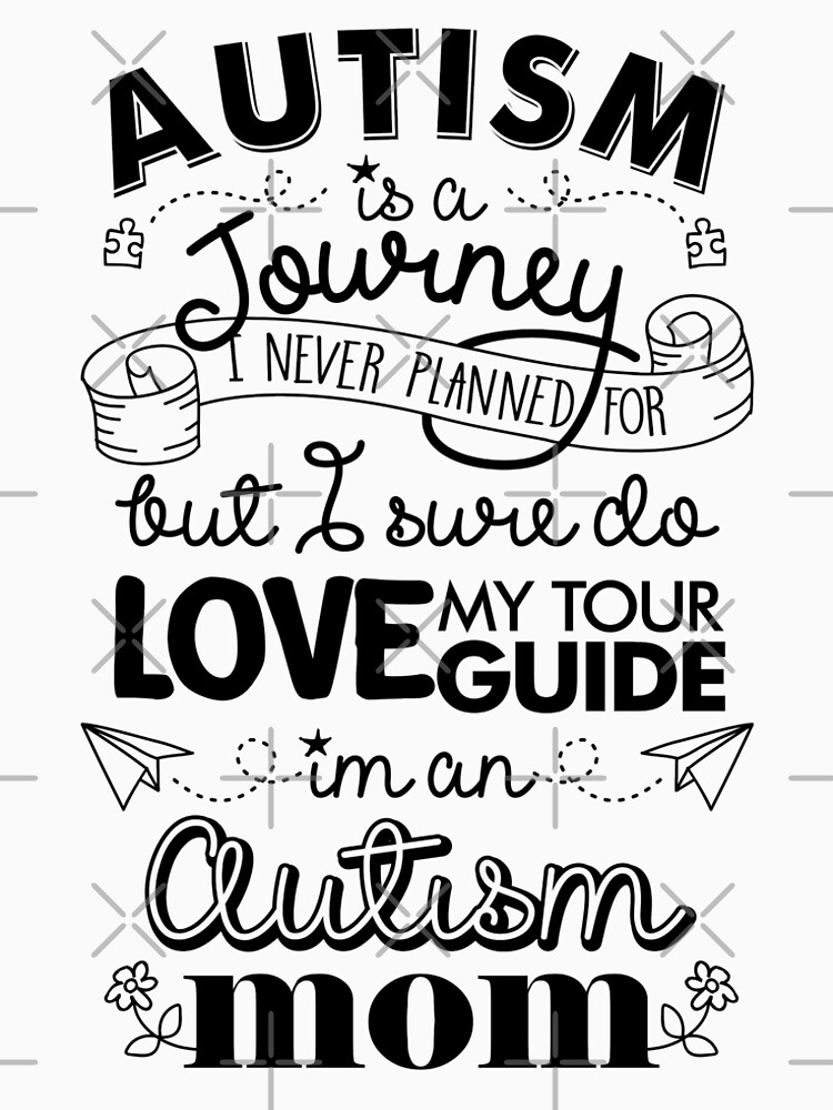 Autism Journey Autism Mom by TeeVision