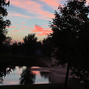 Ohio Sunset by DavidGelhar