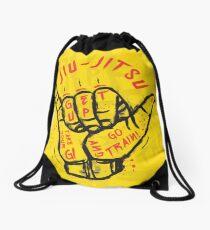 Jiu-jitsu. Go train! Drawstring Bag