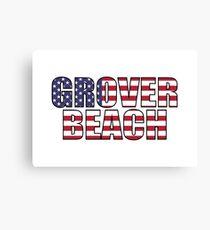 Grover Beach Canvas Print