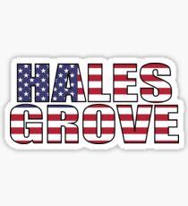 Hales Grove Sticker