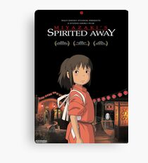 Spirited away Poster Canvas Print