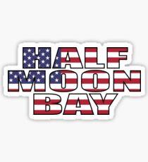 Half Moon Bay Sticker