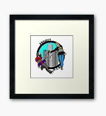 Project D.A.D. Podcast Logo Framed Print