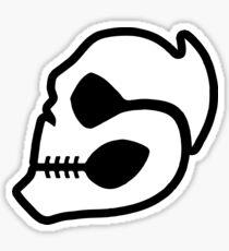 Skull Rider Sticker