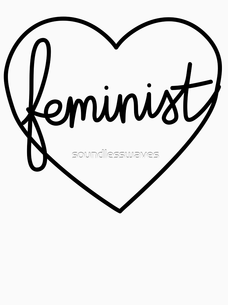 Feminist Heart L by soundlesswaves