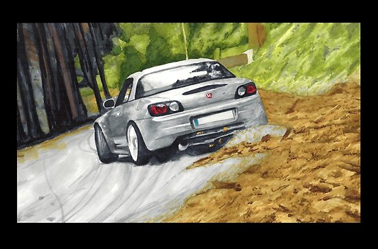 Honda S2000 drifting by ArtyMotive