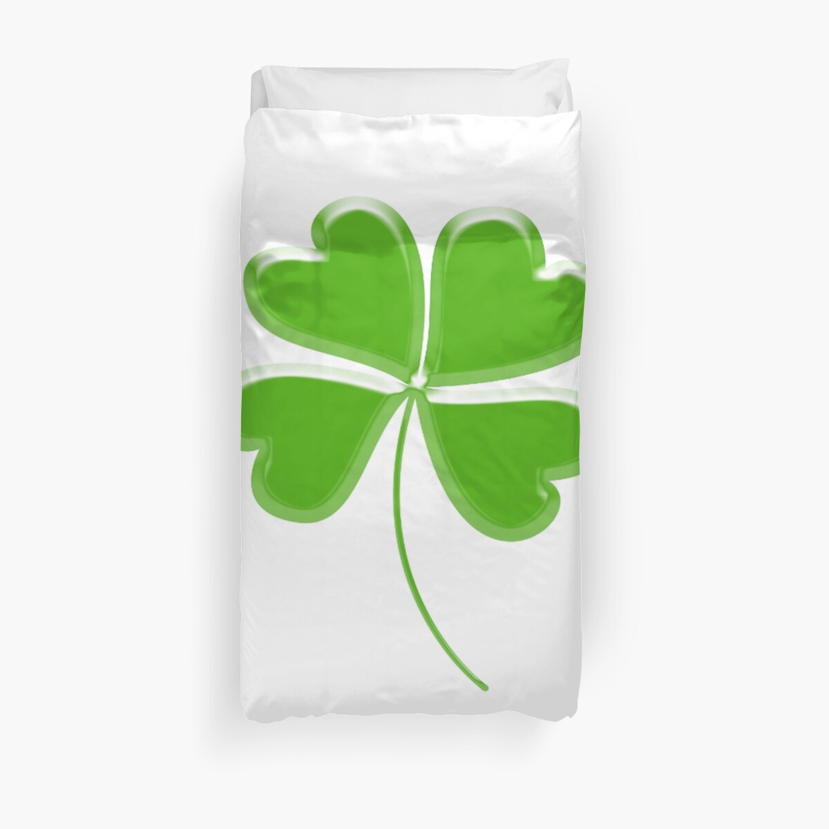 Lucky Four Leaf Clover GOOD LUCK By TOM HILL