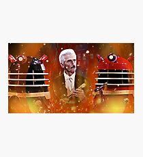 Doctor Who Dalek Movies Photographic Print