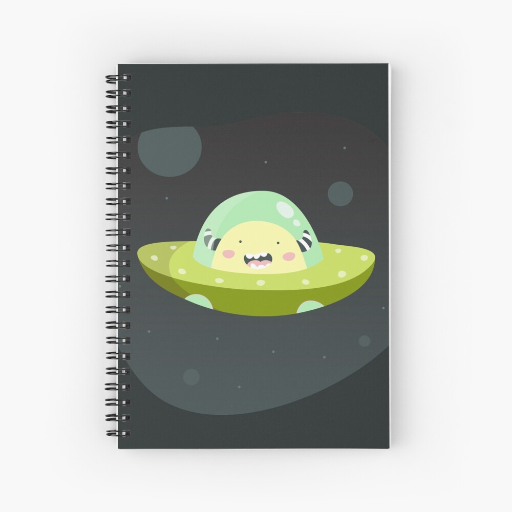 Spacester Spiral Notebook