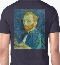Vincent, Van Gogh, Self Portrait, 1889, Artist, Art, Painter, Oils, Canvas T-Shirt