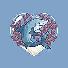 SCARF, the Mako Shark by bytesizetreas