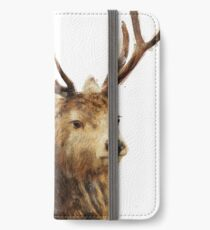 Winter Red Deer iPhone Wallet/Case/Skin