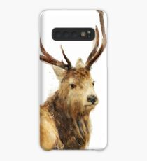 Winter Red Deer Case/Skin for Samsung Galaxy