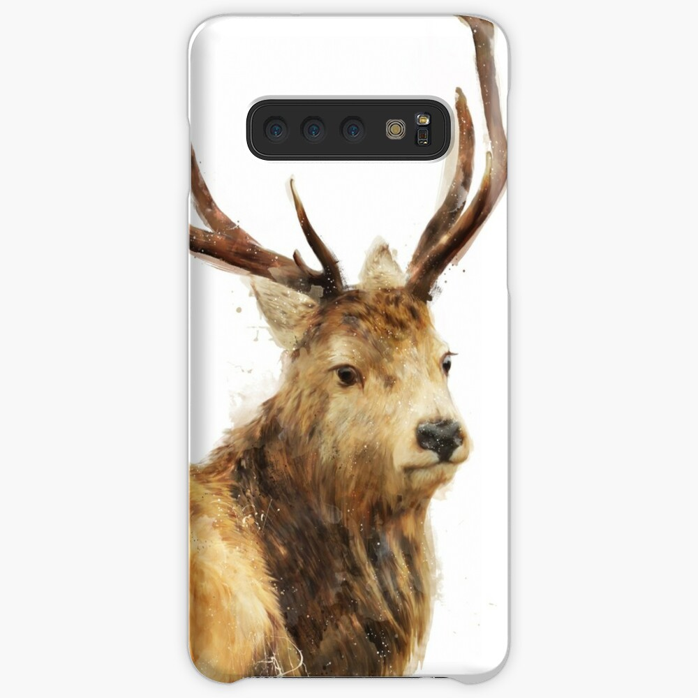 Winter Red Deer Case & Skin for Samsung Galaxy