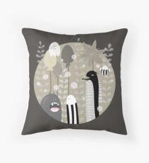 Japanese Fairy Tale / Piece 1 Throw Pillow
