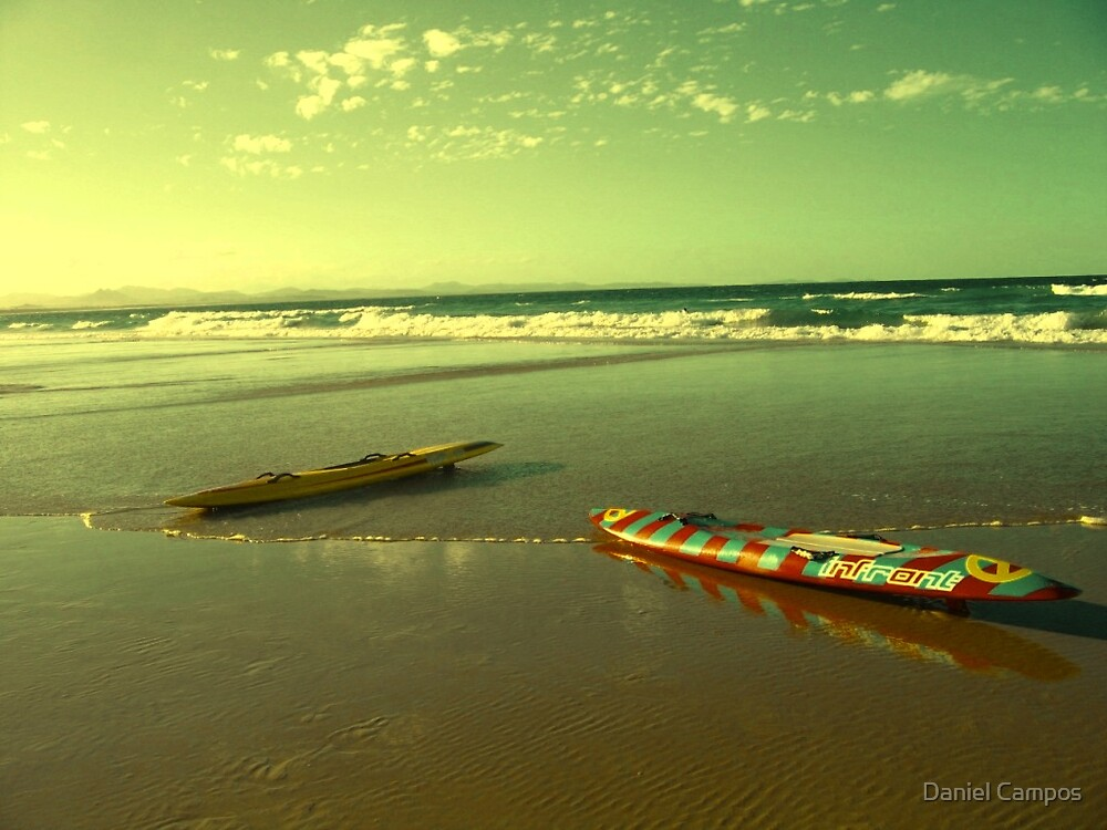 Two canoes by Daniel Campos
