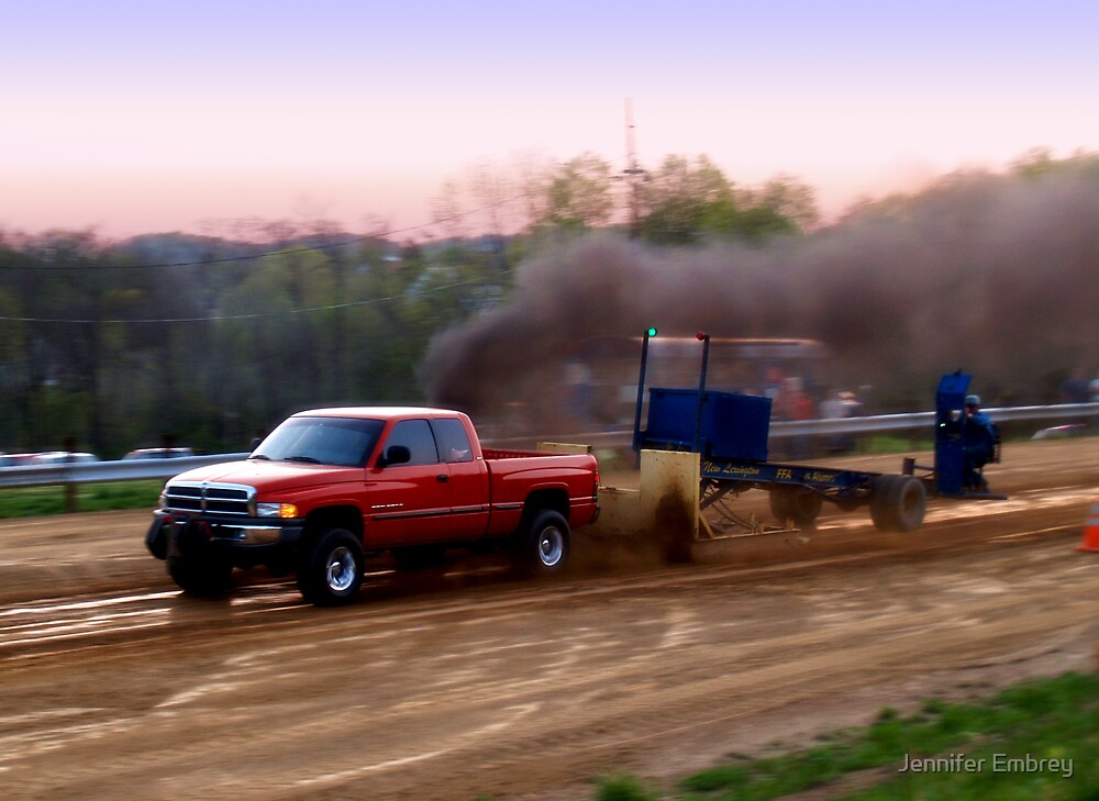 Diesel Truck Pulls 2 by Jennifer Embrey