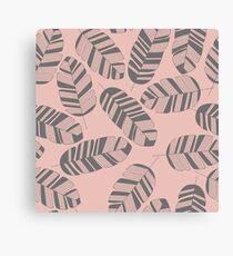 Tropical pattern 016 Canvas Print