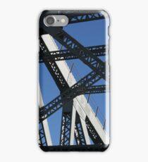 Silver Struts of Story Bridge, Brisbane iPhone Case/Skin
