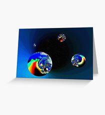 Fractal Cosmos Greeting Card
