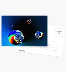 Fractal Cosmos Postcards