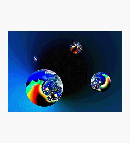 Fractal Cosmos Photographic Print